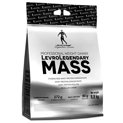 Kevin Levrone Legendary Mass Package of 1 x 6800g – Mass Whey Protein Powder – Muscle and Size Gainer – Anabolic and Weight – Mass Gain – High Protein (Coconut and Milk Chocolate)