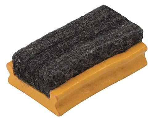 Maped - Brosse en Bois pour Ardoises Blanches et Noires - Effaceur Tableau Blanc et Noir - En Bois et Feutrine - Petite Brosse Format L69 x H44 mm