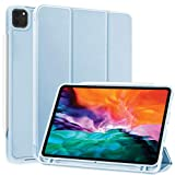 SIWENGDE Case for iPad Pro 11 2020/2018, Rebound Slim Smart Case with Built-in