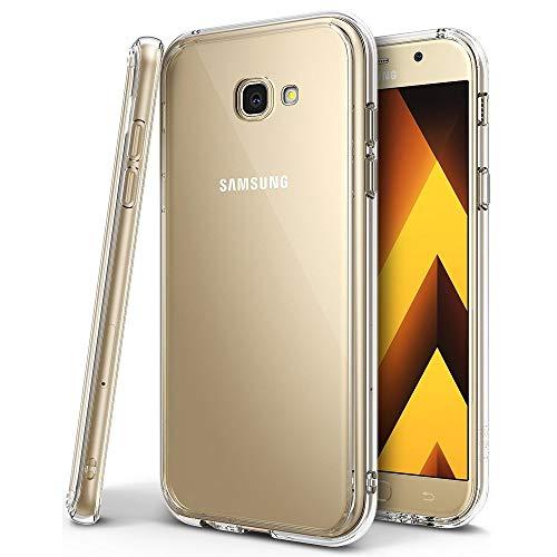 Amonke Hülle Für Samsung A5 2017 Handyhülle Für Samsung Galaxy A5 2017 - Crystal Clear TPU Transparent Case, Soft Flexibel Silikon Durchsichtige Schutzhülle Für Samsung Galaxy A5 2017 (5,2 Zoll)