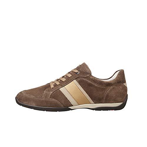 LLOYD Herren Sneaker BONO, Männer Low-Top Sneaker,lose Einlage,Business,Freizeit,maennlich,Halbschuh,schnürschuh,Men,Noce/Sand/Taupe,43 EU / 9 UK