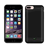 Case Creation Battery Case for iPhone 6+,Portable 10000 Mah Built-in Charging Rechargeable Port...