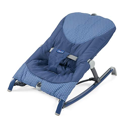 Chicco Pocket Relax - Hamaca ultracompacta y ligera, hasta 18 kg, color azul (Navy)