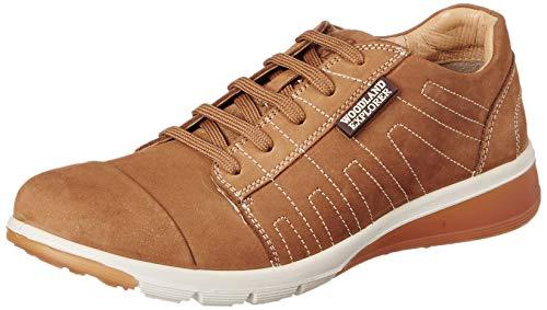 Woodland Men's Camel Leather Sneaker-9 UK (43 EU) (10 US) (GC 3020118)