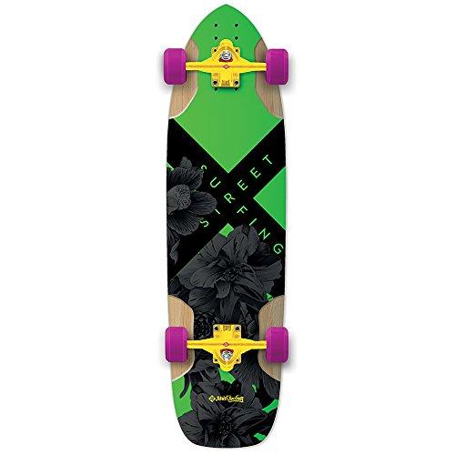 Street Surfing Freeride Longboard Unisex Erwachsene, electricia