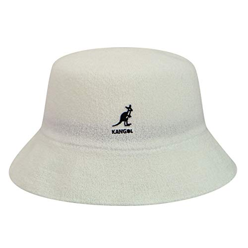 Kangol Men's Headwear Kangol Unisex Fischerhut Gr. Large, weiß