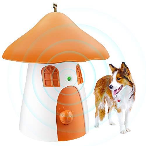 SOYAO Antibell Halsband Hund, Erziehungshalsband Hund mit 3 Ultraschallstufen USB Wiederaufladbar, Anti-Barking-Gerät für Kleine Mittelgroße Große Hunde Kontrollbereich bis 50 Ft