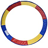 HOMCOM Cubierta de Proteccion Borde Cama elástica y Trampolines, diámetro ø 305 Colorido