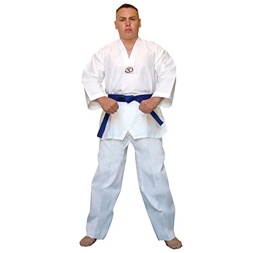 Tiger Claw White Light Weight Tae Kwon Do (TKD) Uniform Size 2