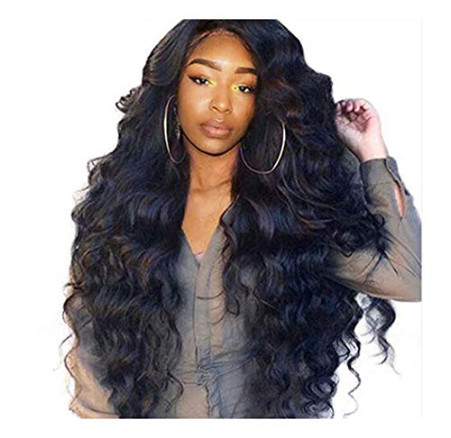 Waselia perücke damen schwarz lang locken-wig,cosplay,faschingskostüme damen,hochzeit,songmics,haarteil,wig,schaufensterpuppe,haare,haar,neu,billig,frau,günstig,dauerwelle