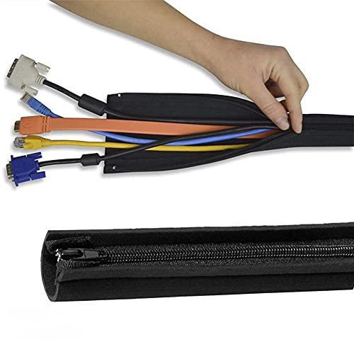 SENDILI Organizador de cables de 4 piezas - Cubierta de cable de...
