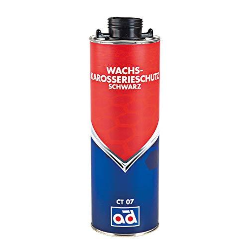 AD Chemie Wachs-Karosserie-Schutz 1L Ct07 500Ml Schwarz Unterboden Rostschutz Wachs Schutzwachs Auto Unterbodenwachs Korrosionsschutz Spray 020512BRCA
