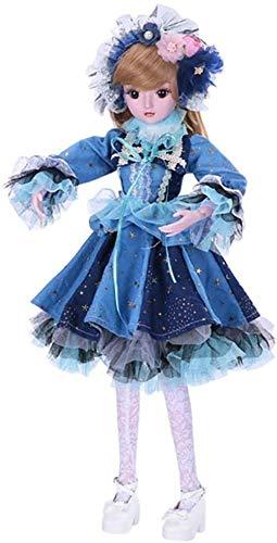 NLRHH 1/3 23,6 Pulgadas Figura de acción Linda Figura de Acción de Gracias de Navidad con Ropa Pelucas y Zapatos para niña como Mejor Regalo Peng
