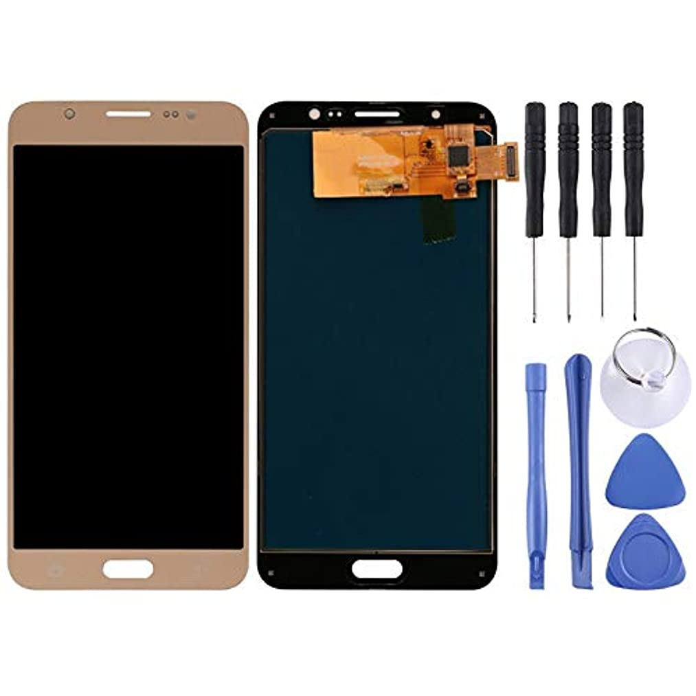 JIXIAO Boutique Accessories LCD Screen (TFT) + Touch Panel for Galaxy J7 (2016) / J7 Duos (2016), J710F, J710FN, J710M, J710MN, J7108(Black) (Color : Gold)