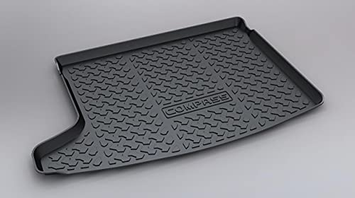 Alfombrilla Para Maletero Coche Para COMPASS 2012-2014, Trasera Boot Liner Mat Impermeable Antislip Mat Alfombra De Suelo Mat Antisuciedad