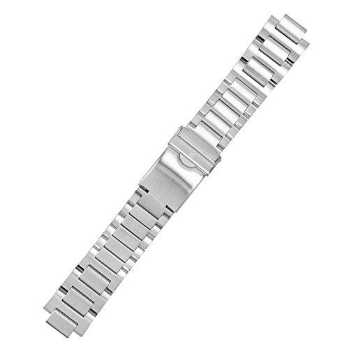Victorinox Uhrenarmband 22mm Edelstahl Silber - 005528