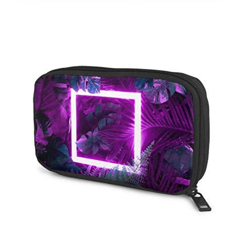 Accesorios electrónicos Bolsa organizadora Diseño Creativo de Colores Fluorescentes Hecho Tropical Organizador...