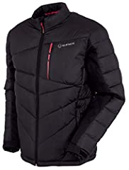 MEN'S WINTER JACKET: The Forbes thermal winter jacket's quilted design closely mimics the look and performance of down, with a reliable waterproof finish ideal for all-weather wear. WINTER COAT: Ultra lightweight jacket fabric with side stretch panel...