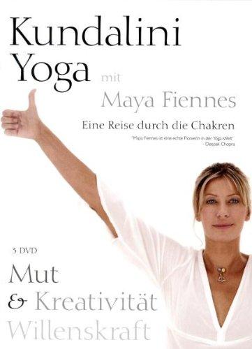 Kundalini Yoga - Mut, Kreativität, Willenskraft [3 DVDs]