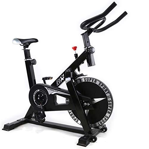 Shocly Bicicleta De Spinning Bicicleta Fitness Plegable Spinning Profesional Resistencia Variable Aptitud Casa Plasticidad,Black