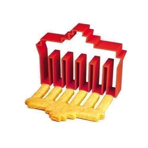 Brandenburger poort souvenir & uitsteekvorm in rood