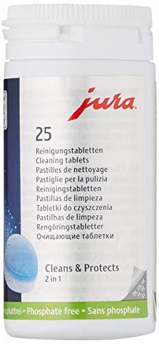JURA 62535 filtros agua, 0 W, 0 Decibeles, Azul, Blanco