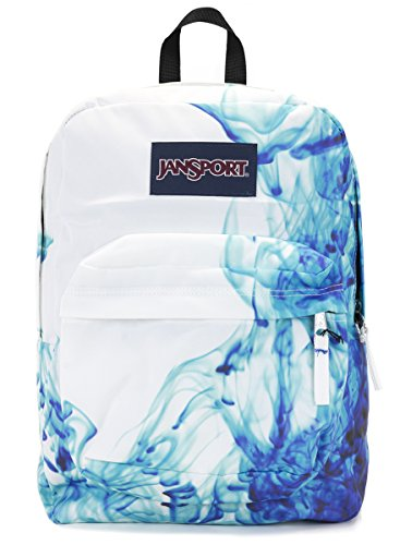 Jansport Superbreak Backpack (multi blue drip dye)