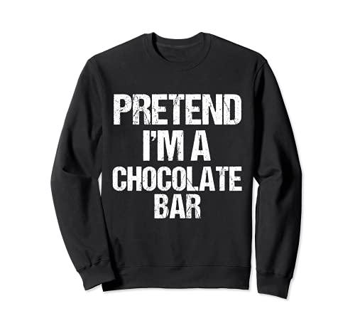 Fai finta che io sia una barretta di cioccolato Costume di H Felpa