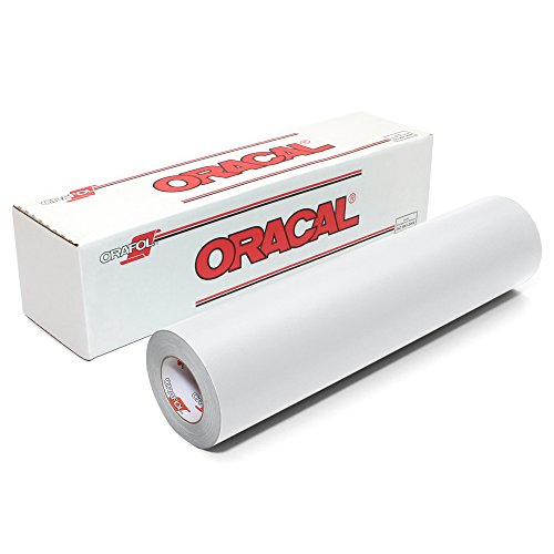 Oracal 631 Matte Vinyl Roll 24 Inches by 150 Feet - White