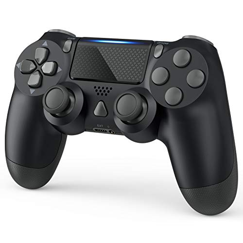 Wireless Controller Compatible with PS4, Dual Vibration Wireless Gamepad Controller Remote Joystick...