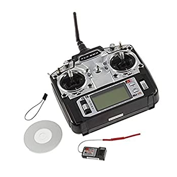 Flysky Fs-t6 2.4ghz Digital Proportional 6 Channel Transmitter and Receiver System By Rctoybest