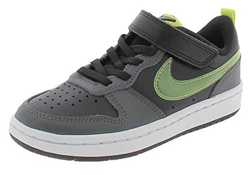 Nike Scarpe Sportive Court Borough Low 2 KSA PSV DC0477001 Bambino Nere Nero 33 EU