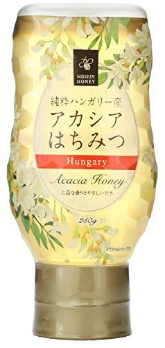 日新蜂蜜 純粋ハンガリー産アカシアはちみつ 250g ×3個