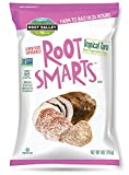 Root Smarts Tropical Taro Root Vegetable Chips   Non Gmo, Gluten Free, by Root Valley Farms (6oz, 12 Pack)