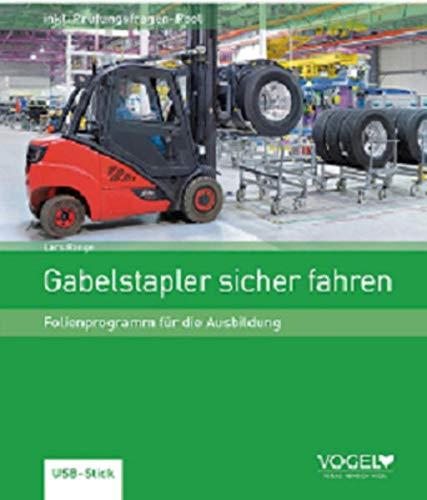 Gabelstapler sicher fahren: Folienprogramm für die Ausbildung auf USB-Stick