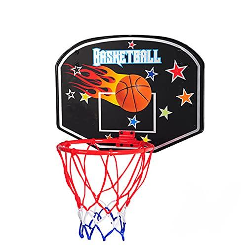 ZXCVB Hoop de Baloncesto para niños, Colgando de Dibujos Animados de Dibujos Animados de Dibujos Animados Plegables para Interiores, aro de Baloncesto portátil al Aire lib Mars