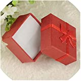 Bowen Jimmy Colorful 1Pc New 4X4X3Cm/8X5X2.5Cm/9X7X3Cm Jewery Organizer Box Rings Storage Cute Box Small Gift Box