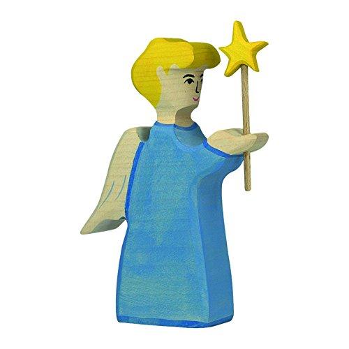 Holztiger Engel mit Stern, 80288