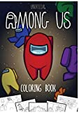 Unofficial Among Us Coloring Book
