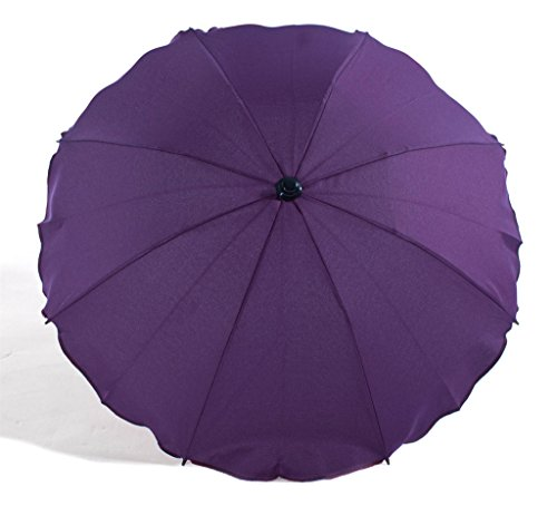 Sombrilla/Universal para sillita de bebé paraguas Shade Canopy (violeta)