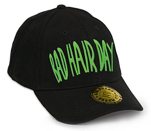 Baseball Cap Bonnet Bad Hair Day Chapeau Casquette Snapback Hip-Hop Snap Back (BHD Green)
