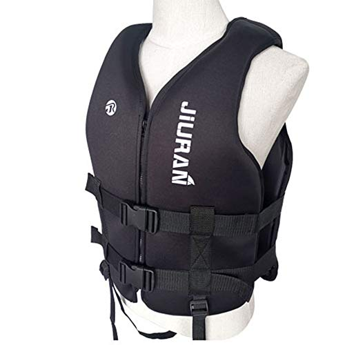JUNM Life Jacket Buoyancy Vest Profession Aid Survival Floating Summer...