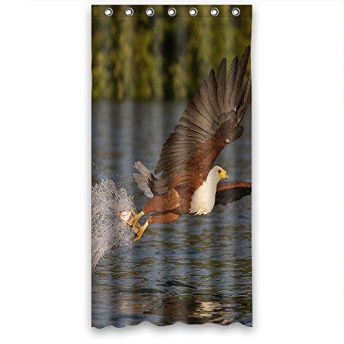 Doubee Personalisiert Tiere Adler Wasserdicht Polyester Duschvorhänge Shower Curtain 36