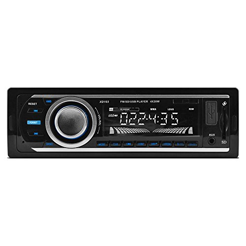 xo vision bluetooth audio receivers XO Vision XD103 FM and MP3 Stereo Receiver with USB Port and SD Card Slot