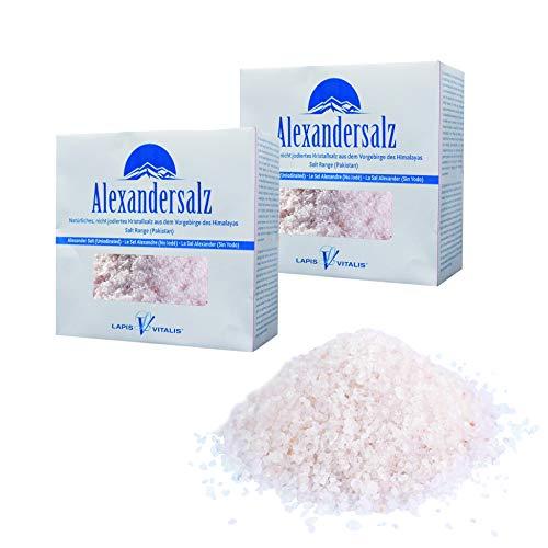 Lapis Vitalis, Alexandersalz, Himalaya Salz fein (0,5-1 mm) 2 kg - 2x 1kg Karton