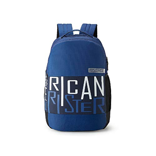 American Tourister Bounce 28 Ltrs Blue Casual Backpack (FR9 (0) 01 001)