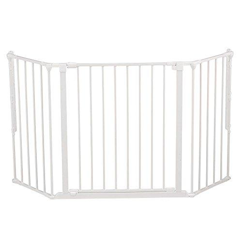 Baby Dan - Barrera de Seguridad Flex M blanco
