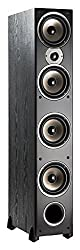 professional Polk Audio Monitor 70 Series II Tower Speakers (Black, Single), for Multi-Channel Home Theater | 1 …