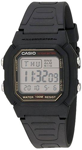 [カシオ]腕時計 スタンダード デジタル W-800HG-9AV ゴールド メンズ 海外モデル[逆輸入]