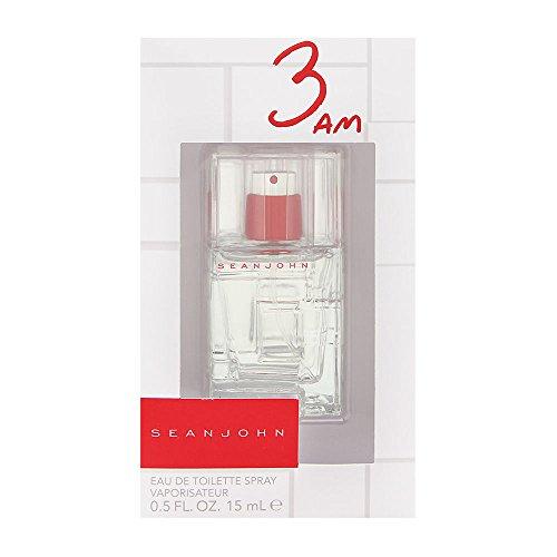 Sean John 3 Am Eau de Toilette Spray, 0.5 Ounce